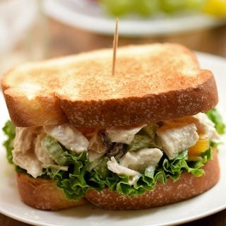 Apricot-Nut Chicken Salad Sandwich