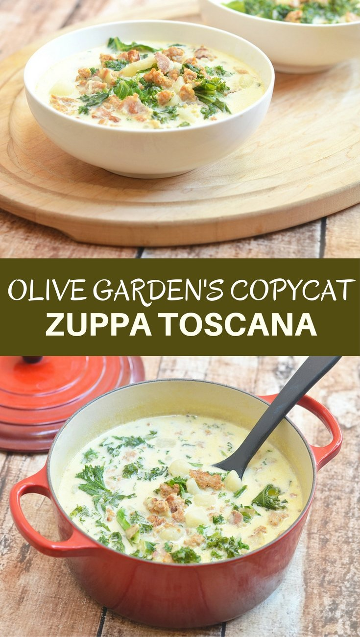 Zuppa Toscana Olive Garden S Tuscan Soup Onion Rings Things