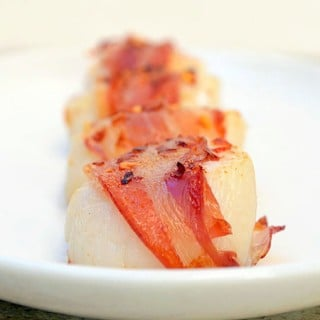 Pancetta-wrapped Scallops