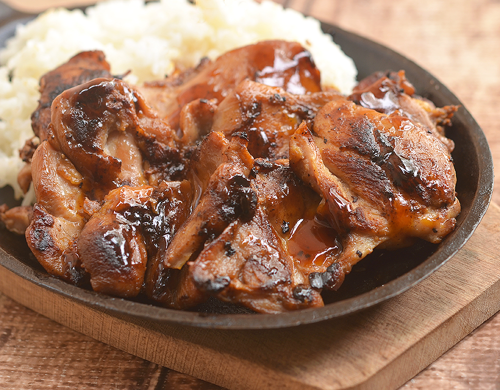 Sweet Mango Barbecue Chicken is a must-have for a summer BBQ party