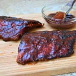 Barbecued Baby Back Ribs