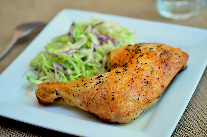 Brined Roasted Chicken