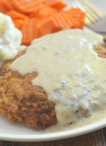 Country Fried Steak with Creamy Gravy