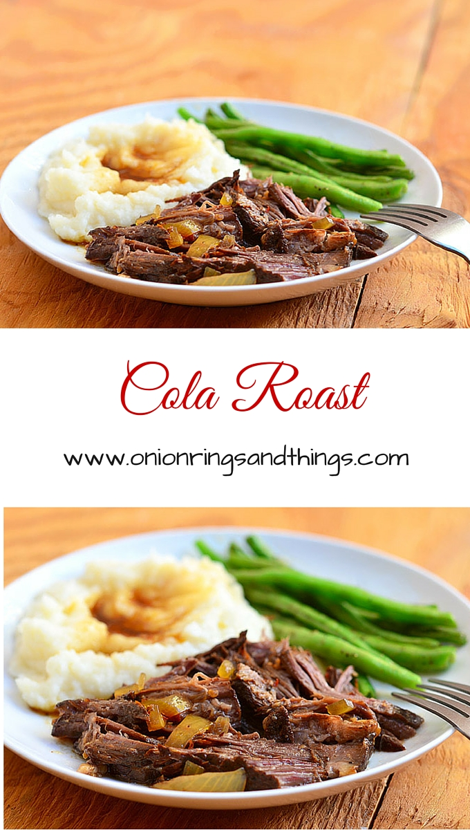 Sweet, spicy and super tender Slow Cooker Cola Roast is perfect for busy weeknights. Done in the slow cooker, it's a hands-off meal that's easy and convenient yet satisfying and delicious.