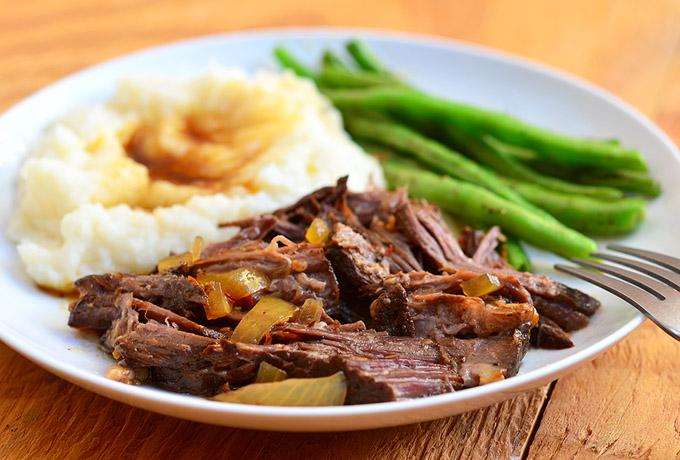 Slow Cooker Cola Roast