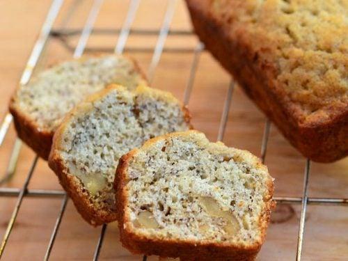 Mini Loaf Banana Bread Recipe