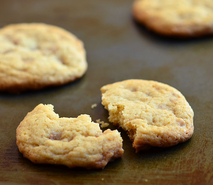 Toffee Drop Cookies