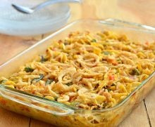 Easy-Cheesy Tuna Noodle Casserole