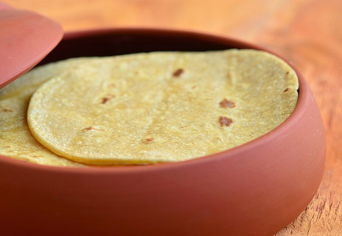 Fresh homemade corn tortillas are ready for your favorite fillings.