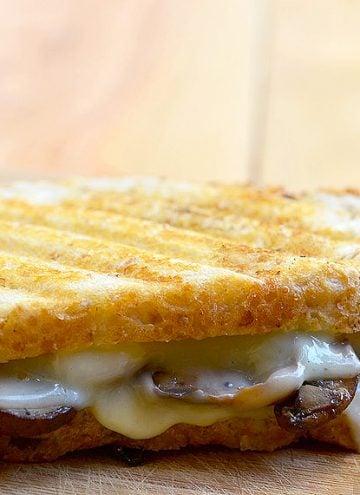 Portabello Mushroom Sandwich Melt
