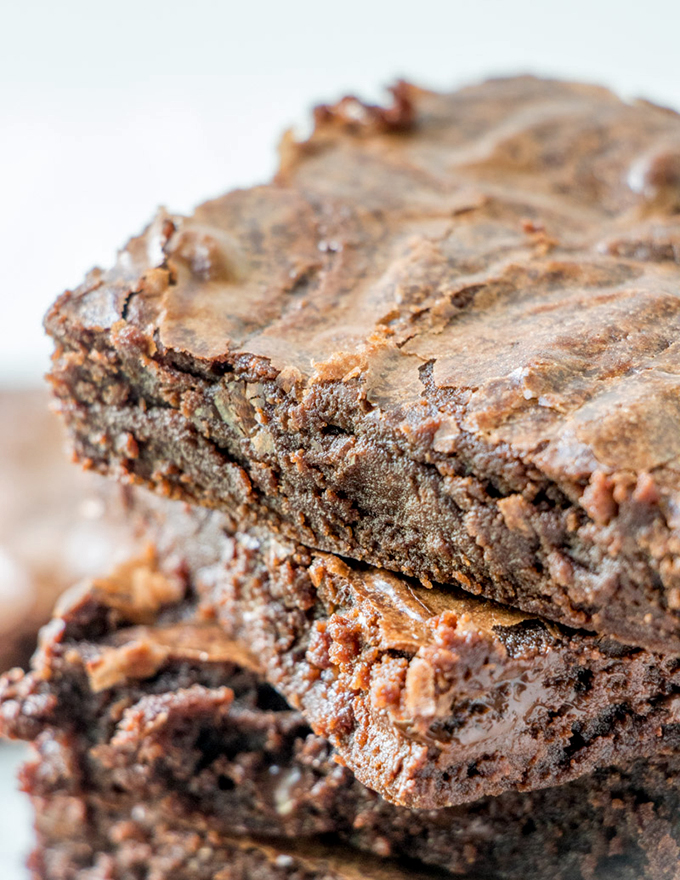 My One-Bowl Brownies come out tastier than any box mix!