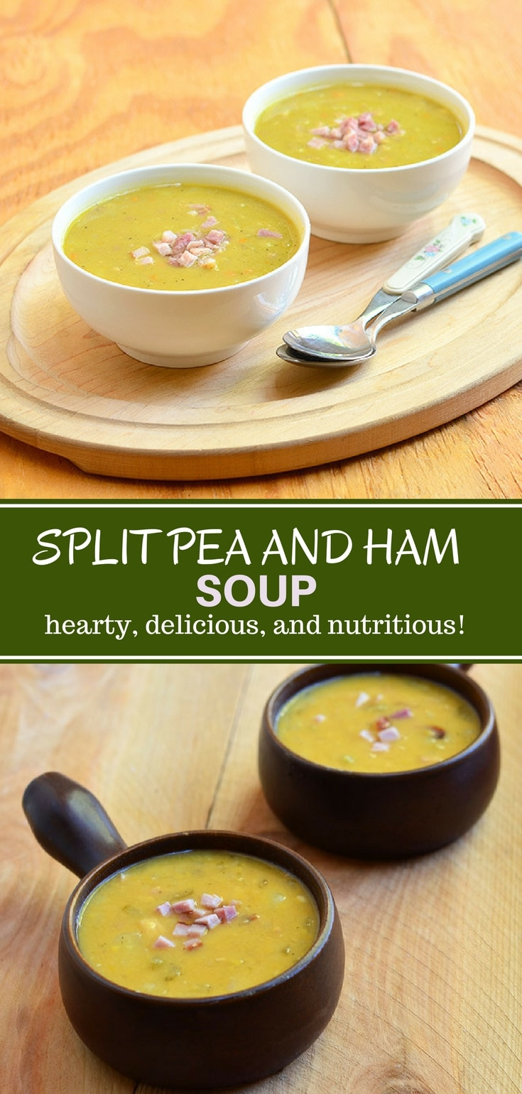 how to make split pea and ham soup