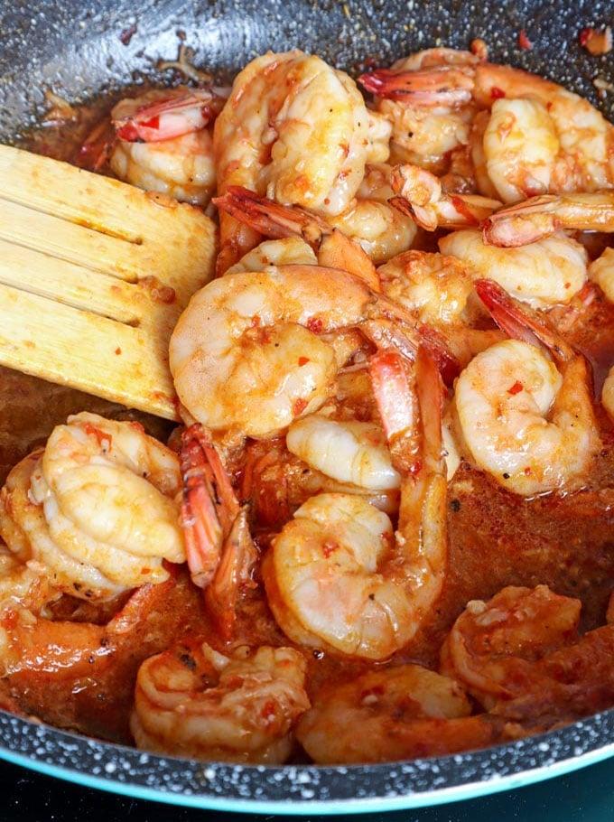 Chili Garlic Shrimp