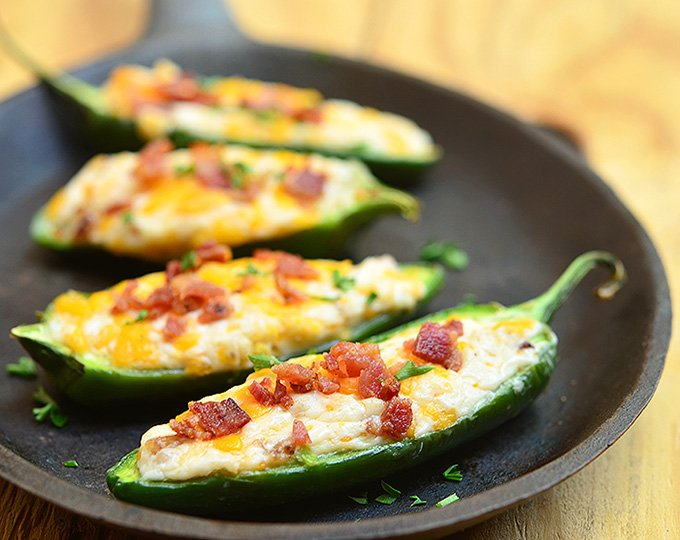 Guacamole Bacon Stuffed Pepper Poppers Recipes — Dishmaps