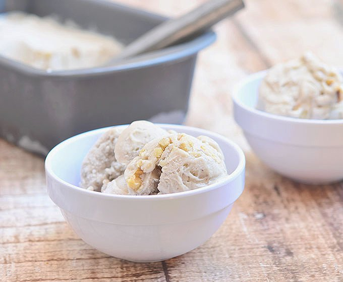 Four-Ingredient Banana Nut Ice Cream