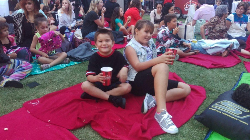 Orville Redenbacher's Popcorn Movies in the Park at The Grove