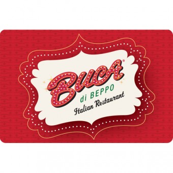 Buca di Peppo's Create Your Own Pasta Bowl $100 Gift Card Giveaway