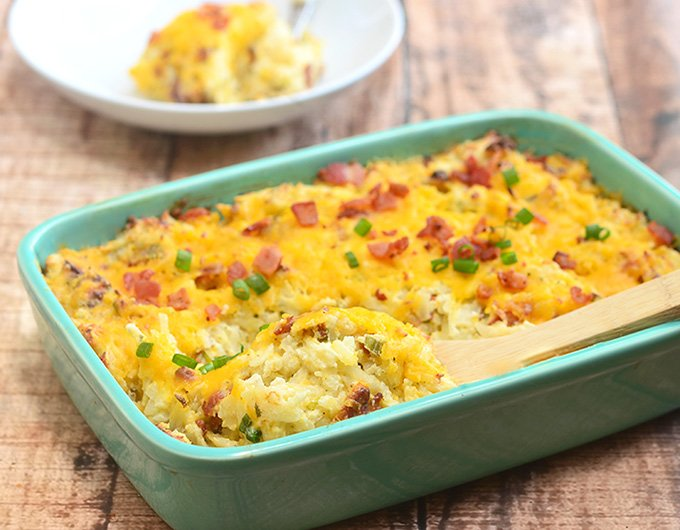 Crack potatoes are as addicting as they sound! Creamy, cheesy and chock full of crisp bacon, and ranch flavor, they're sure to be a dinner hit!