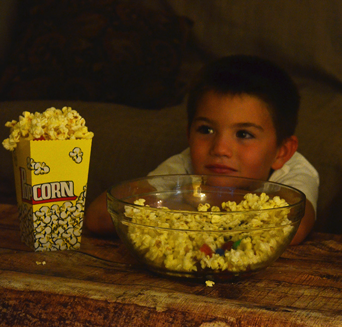 Backyard Movie Party with Orville Redenbacher's Popcorn