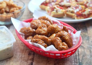 Orange-Glazed Boneless Wings