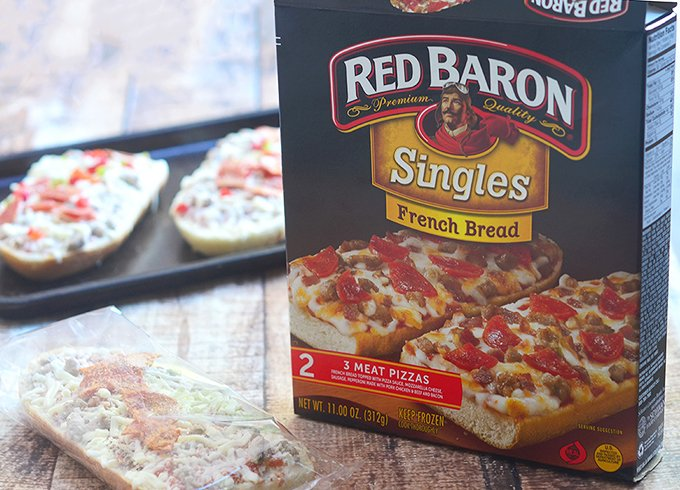 Red Baron Pizzas and Orange Chicken Wings for the Holidays