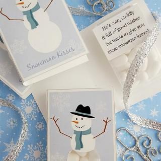 DIY Snowman Kisses (plus FREE Printable)