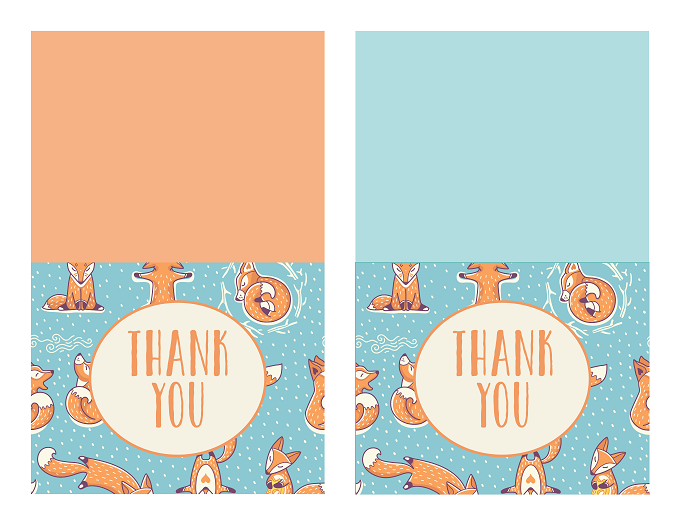 Christmas Thank You Cards And Tracker Free Printables Onion