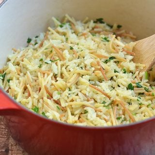 Rice Vermicelli Pilaf (Rice-A-Roni San Francisco Treat Copycat)