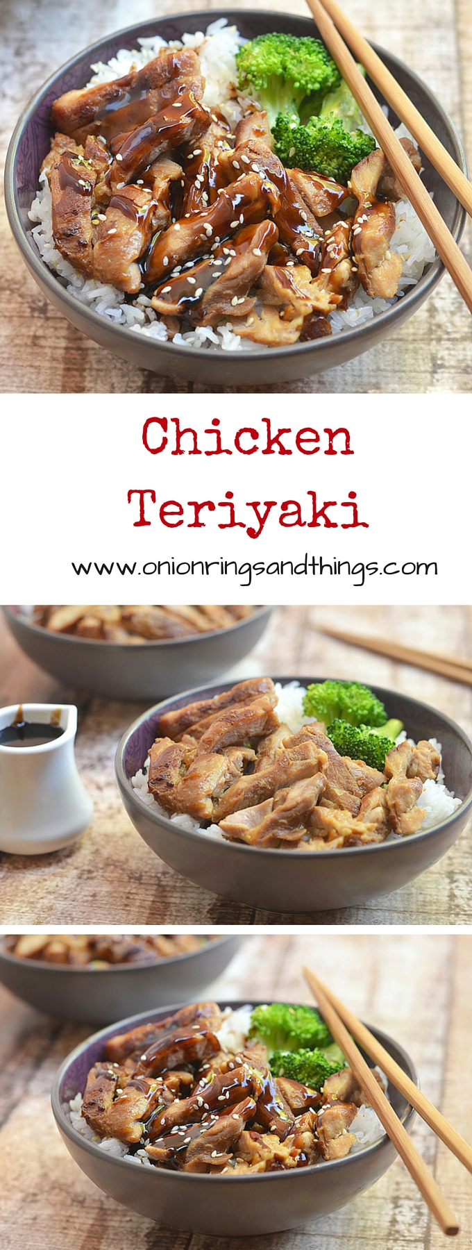 Chicken teriyaki with moist meat, full flavor and from-scratch teriyaki sauce. It's a breeze to make and is sure to please the whole family!