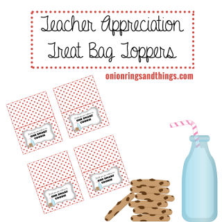100 of the Best Cookie Recipes plus FREE Teacher's Appreciation Treat Bag Topper Printable