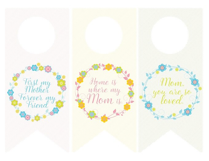 image about Free Printable Mothers Day Tags identified as Moms Working day Wine Bottle Tag Printables Onion Rings Factors