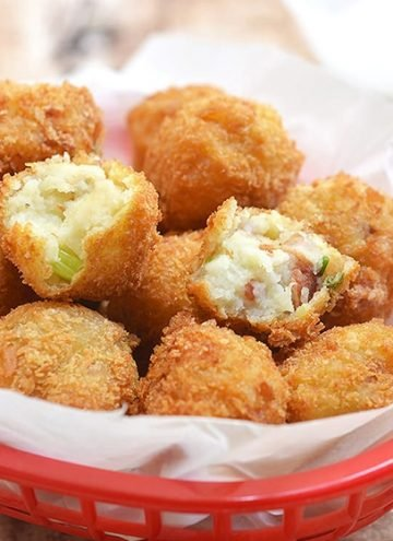 Loaded Potato Croquettes
