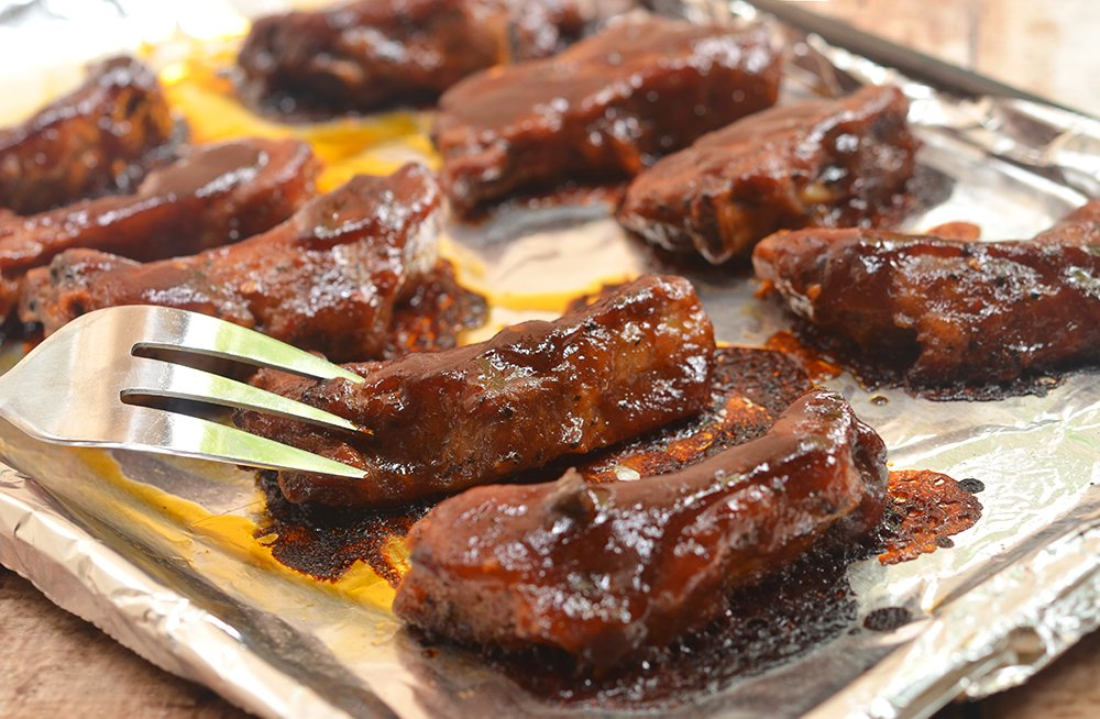 ... Oven-Baked Baby Back Ribs with Coffee Whiskey Barbecue Sauce DIY