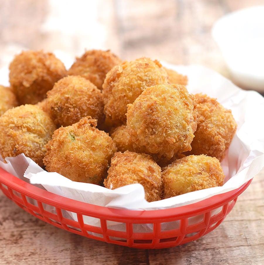 Loaded Mashed Potato Balls