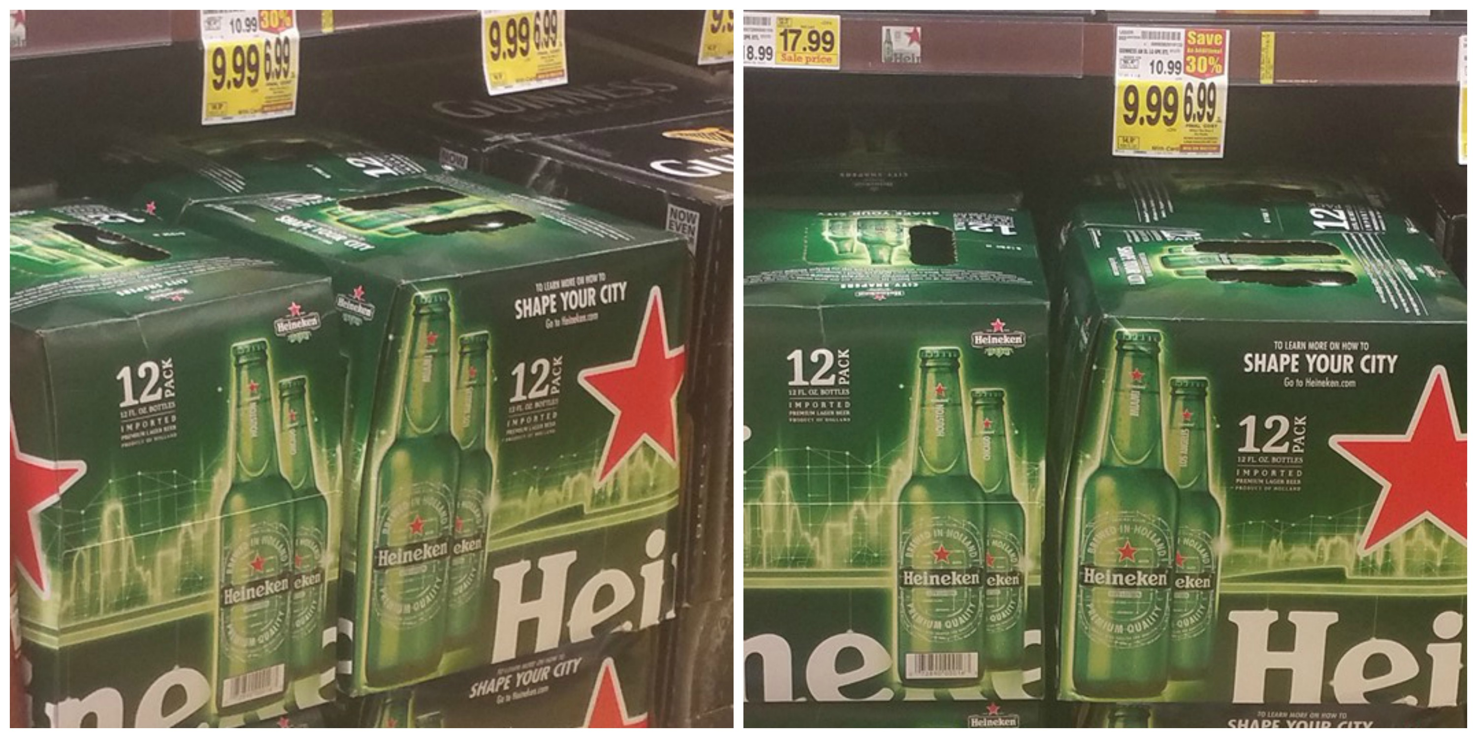 The Korean BBQ Kalbi starts with picking up a 12-pack of Heineken from your local store.
