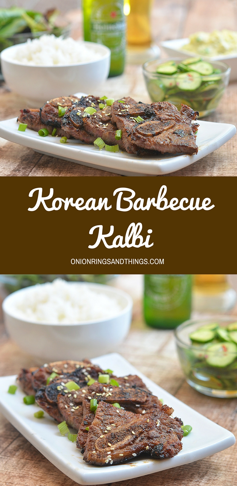 Msg 4 21+ #ad Moist and flavorful, these Korean BBQ Kalbi are so easy to make and grill up in no time.  They're so addicting, it will be hard to eat just one!