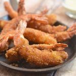 Crispy Cereal-Crusted Shrimps