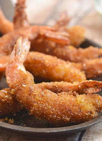 Crispy Cereal-Crusted Shrimps