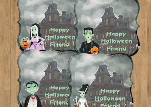 FREE Munsters Treat Bag Topper Printables