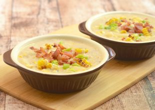 Grilled Corn Potato Chowder