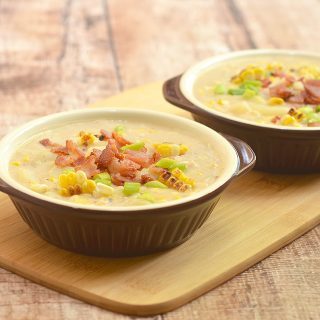 Grilled Corn Potato Chowder