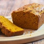Pumpkin Loaf that's soft, moist and loaded with pumpkin flavor. It's a delicious baked treat for breakfast or anytime snack and perfect for gift-giving!