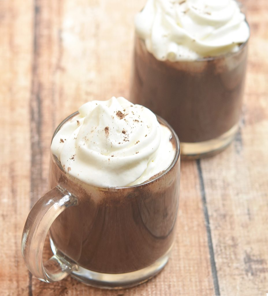 Disneyland's Hot Chocolate Copycat that's creamy and chocolatey at every sip! Rich and indulgent, it's the perfect treat for cold winter days!
