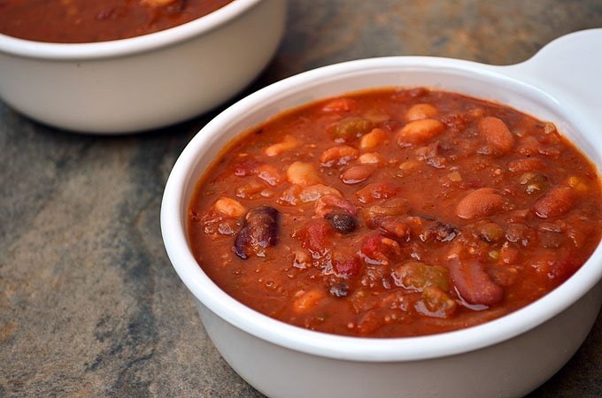 15-Bean and Ham Soup with assorted beans, ham, tomatoes, and Cajun seasonings is thick, hearty, delicious and the ultimate winter comfort food.