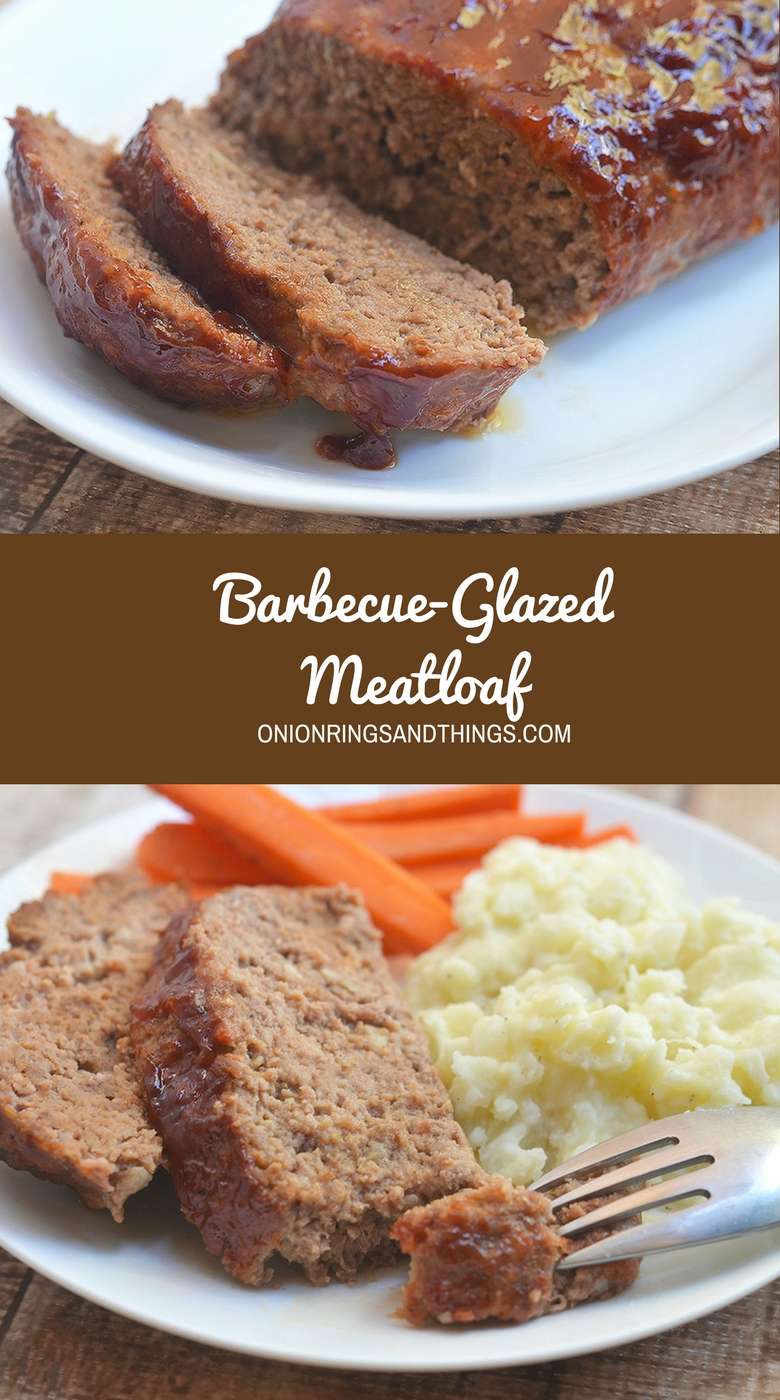 Barbecue-glazed Meatloaf is super moist, flavorful, and glazed with sweet and tangy barbecue sauce. It's amazing paired with your favorite sides yet equally delicious in a sandwich.