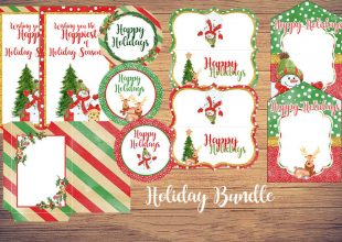 Christmas Gift Giving FREE Printables