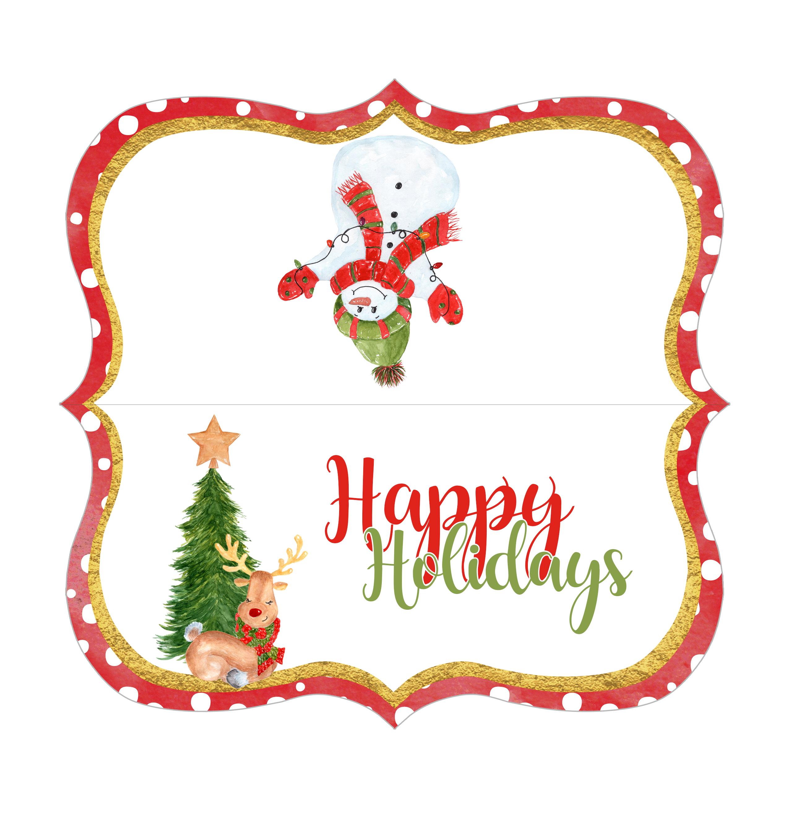 Christmas Gift Giving FREE Printables