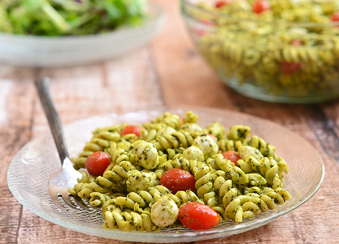 4 56 From 9 Votes Print Pesto Pasta Salad