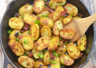 Skillet Potatoes and Bacon