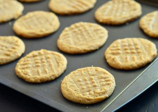 Unbelievable Three Ingredient Peanut Butter Cookies